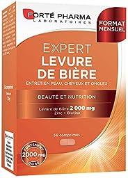 Expert Levure de bière | Complément Alimentaire Peau, Cheveux et Ongles | 56 comprimés