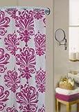 Regal Fuchsia Shower Curtain 180 x 180cm by Textiles Direct
