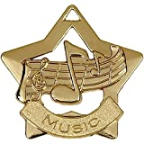 12 x Music Medals 60mm with free ribbon No engraving is available