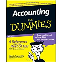 Accounting For Dummies by John A. Tracy (2008-06-03)