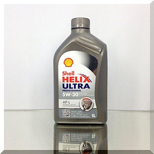 SHELL 1293001 Helix Ultra Motor Oil APL 5W-30, 1 l