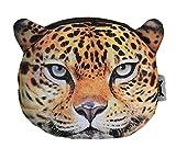 Weicher Geldbeutel / Aufbewahrungstasche / Münzbörse mit coolem Großkatzenmotiv (Leopard, Löwe, Tiger) im Animal Pri