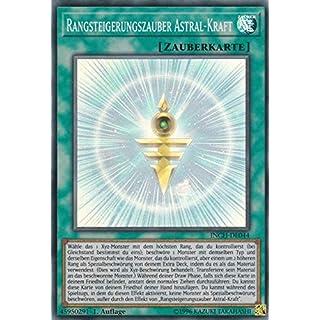 INCH-DE044 - Rangsteigerungszauber Astral-Kraft - Super Rare - Yu-Gi-Oh - Deutsch - 1. Auflage