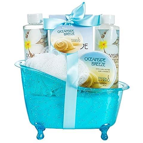 Coffret cadeau - Set de bain, senteur Océan