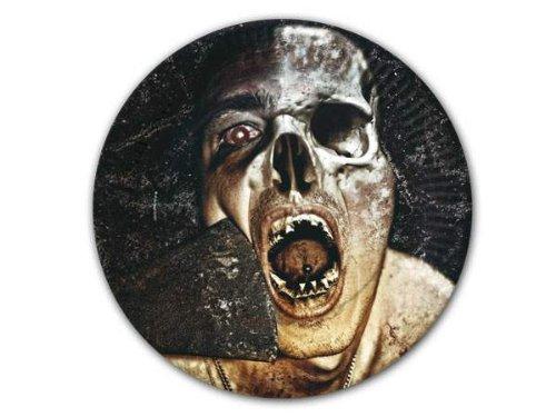 10 Teller * Zombie * in Ø23cm von DH-Konzept // Pappteller Party Geburtstag Horror Zombie Gruseln Schream Blut Halloween Scream Schock (Essen Halloween-party Zombie)