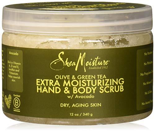 Shea Moisture Olive & Green Tea Scrub