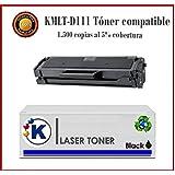 KONVER Toner Compatible K111 - Cartucho de tóner láser para Impresoras Xpress M2020/M2022/M2070 - Producto Compatible - Enviado desde Madrid.