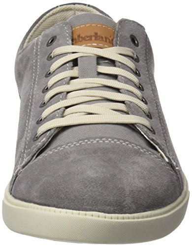 Timberland Fulk Cap Toe Ox, Oxfords Homme Gris (Steeple Grey Hammer Ii Suede)
