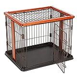 Metal Exercise Pen/Pet Laufgitter Für Kleine Tiere, Indoor Outdoor, Schwarz, Faltbare Pet House (größe : S)