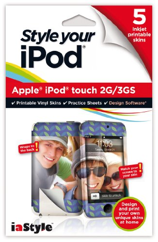 Preisvergleich Produktbild [UK-Import]Style your iPod - Inkjet printable skins for the Apple iPod Touch 2g and 3GS