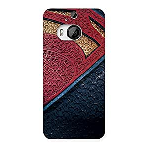 Gorgeous Day suit Multicolor Print Back Case Cover for HTC One M9 Plus