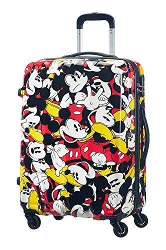 Samsonite-American-Tourister-Disney-Legends-Spinner-Valigia-75-cm-87-litri-Mickey-Comics