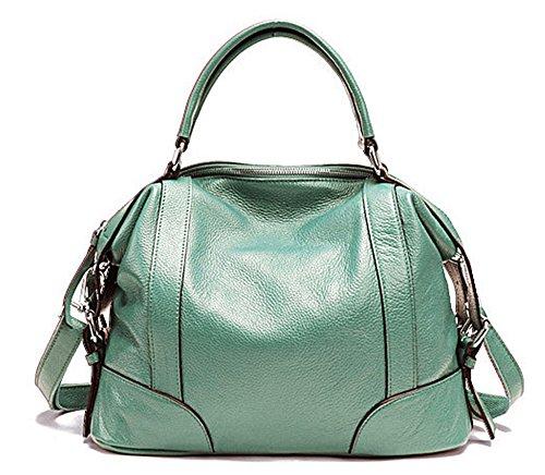 Xinmaoyuan Borse donna Vacchetta Ladies Borsetta tracolla messenger bag moda borsette in cuoio Blue
