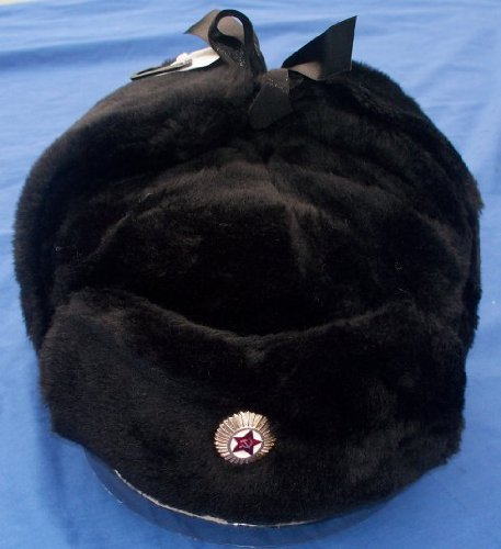 Classic Russian Army Style Ushanka Trapper Hat – Size 60 cm
