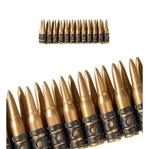 Widmann 2723D Munitionsgürtel, Mehrfarbig (Militar Disfraz Halloween)