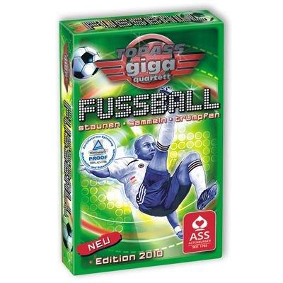 Preisvergleich Produktbild 22573007 - ASS Altenburger Spielkarten - TOP ASS Giga Quartett Fussball
