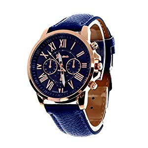 Geneva Platinum Blue Dial for Women – GP-083