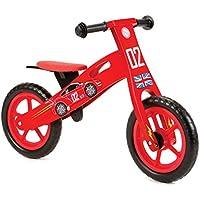 Nicko Racing Cars Kids Children's Wooden Balance Bike NIC852