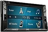 JVC KW v240bt de DVD/CD/USB Récepteur, technologie Bluetooth intégré et 15,7cm (6,2pouces) Écran tactile avec résolution VGA Noir