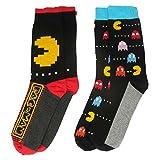 Pacman y1h417Pacman hombres de calcetines (tamaño 6–11, pack de 2)
