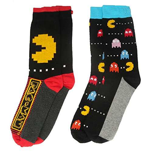 Officially Licensed Pacman Socks for Men.