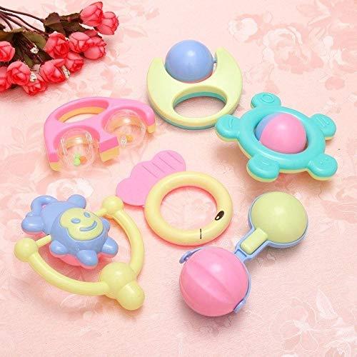 /Lot niedliche Tier-Handschellen aus Kunststoff Entwicklung Spielzeug Handschellen Schütteln Bett Glocken Kinder Baby Lernspielzeug Rassel Show ()