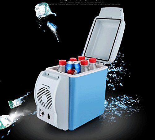 CDD ABS, Automobilumweltschutz und Energiesparender Kühlraum, 7.5L Heizungskasten, 12V Automobildoppelgebrauchskühlschrank, 550Mm * 375Mm * 410Mm Beweglicher Minikühlraum