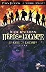 Héros de l'Olympe, Tome 5 : Le sang de l'Olympe par Riordan