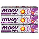 #5: Moov Ortho Knee and Joints Pain Relief Cream - 50 g (Pack of 3)