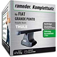 Dachträger Menabo Tema Fiat Punto Evo 5Türer Stahl 2009-2012