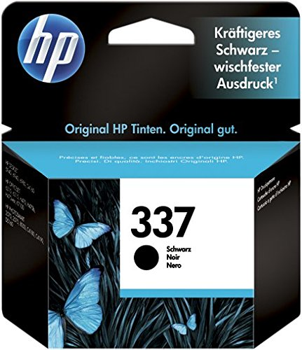 HP 337 (C9364EE) Cartuccia Originale per Stampanti HP a Getto di Inchiostro, Compatibile con HP Officejet, 7110 e K7100, Photosmart 8050, Deskjet 5940, 6620, 6540, 6940 e 6980, Nero