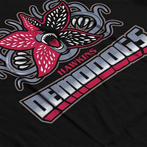 Hawkins Demodogs Stranger Things Womens Sweatshirt Black