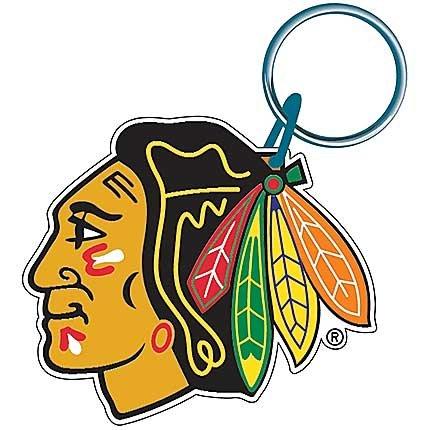 Chicago Blackhawks (WinCraft Chicago Blackhawks Premium NHL Schlüsselanhänger)