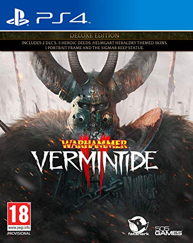 Warhammer Vermintide 2 Deluxe Edition (PS4) Best Price and Cheapest