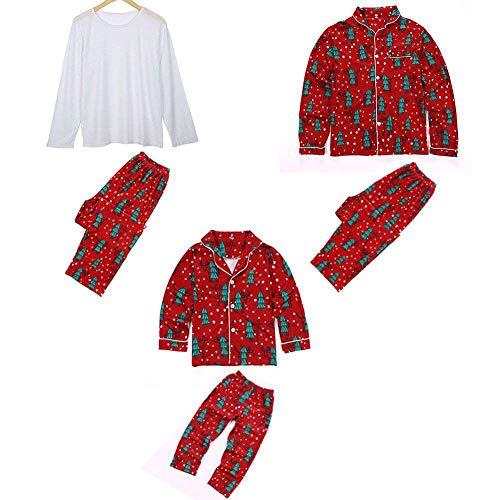 Passende Familie Weihnachten Sleepsuit Weihnachtsbaum Gedruckt Pyjama Set Kind Mom Dad Mode Homewear Lougewear