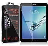 Cadorabo Panzer Folie für Samsung Galaxy Tab S2 (9,7 Zoll) - Schutzfolie in KRISTALL KLAR – Gehärtetes (Tempered) Display-Schutzglas in 9H Härte mit 3D Touch Glas Kompatibilität