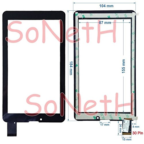 vetro tablet majestic Touch Screen Majestic Tab 747 7