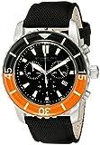 Stuhrling Original Men's 3268.01 Aquadiver Felucca Analog Display Swiss Quartz Black Watch best price on Amazon @ Rs. 6661