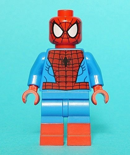 Lego mini figure Spider Man Super Heroes 76037