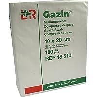 GAZIN Mullkomp.10x20 cm unsteril 12fach Op 100St. preisvergleich bei billige-tabletten.eu