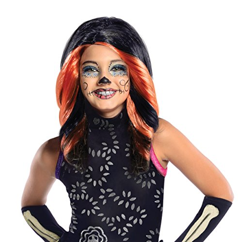 Rubie's - PE941 - Perruque licence luxe skelita calaveras monster high