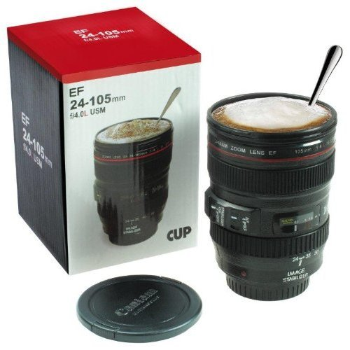 Tasse Kaffeebecher Objektiv