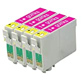 4 Go Inks Light Magenta Ink Cartridges to replace Epson T0806 Compatible/non-OEM for Epson Stylus Photo Printers
