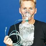 DCT Sauerstoff-Maske mit Schlauch und Beutel für Erwachsene