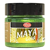 Viva Decor Maya Gold paint-apple, Acryl, grün, Medium