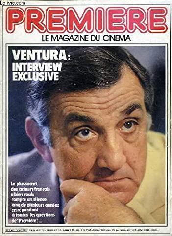 Premier le magazine du cinema n°58 - ventura: interview