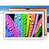 10.1 Inch Retina Screen Tablet PC -- 3G Phablet -- Latest Android 5.1 Lollipop -- 1.5GHz Octa-Core CPU -- 1GB RAM -- 16GB Storage -- Dual Camera -- 2560*1600 Resolution -- Bluetooth -- In Built 2x Normal DUAL Sim Card Slot (Gold/ White) preiswert