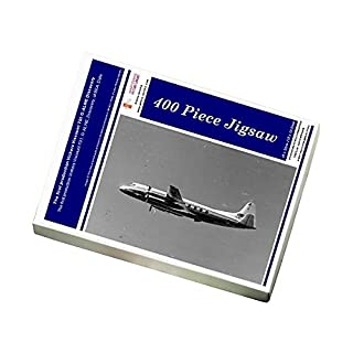 Media Storehouse 400 Piece Puzzle of The first production Vickers Viscount 701 G-ALWE Discovery (9893755)