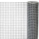 Wühlmausgitter Wühlmausschutz Maulwurfgitter Maulwurfsperre Schutzgitter für Hochbeete, 2,5x1m, Maschenweite 6,3 mm, verzinkt und punktverschweißt - 3