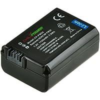 Chili Power NP-FW50Batterie pour Sony Alpha 7, A7, Alpha 7R a7R, Alpha A3000, A5000, A6000, NEX-3, NEX-5, NEX-5R/5T, NEX-6, NEX-7, NEX-C3, NEX-F3, SLT-A33, SLT A35, A37SLT-A77VK, SLT-A77VM, de A55V, Cybershot DSC-RX10avec